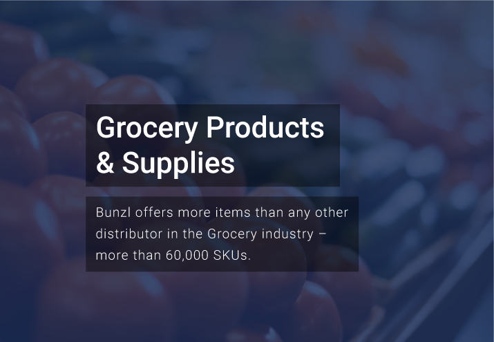 Bunzl Grocery Products and Supplies