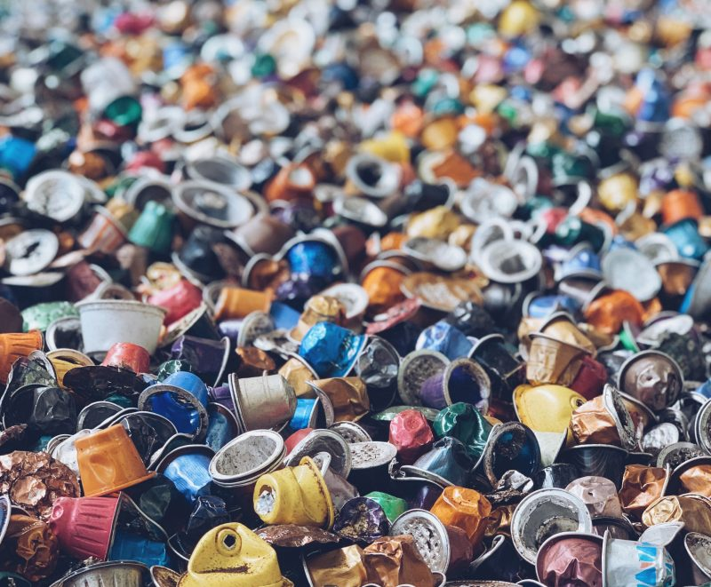Recycled Single Use Coffee Packs